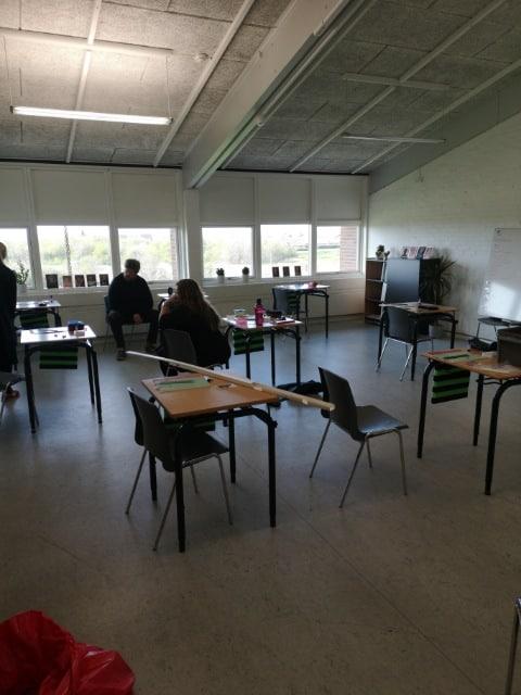 Personalet Klargøre Til Skolestart Efter Covid-19